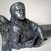Pomnik nagrobny - Aniołek