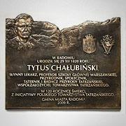 Dr Tytus Chałubiński