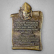Patron - Jan Paweł II -Gorlice