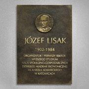 Patron - Józef Lisak