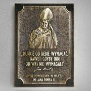 Patron - Jan Paweł II