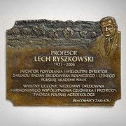 Profesor Lech Ryszkowski